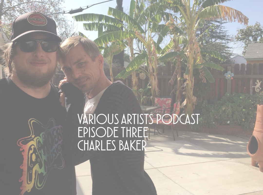 Various Artists Podcast Episode Three: Charles Baker