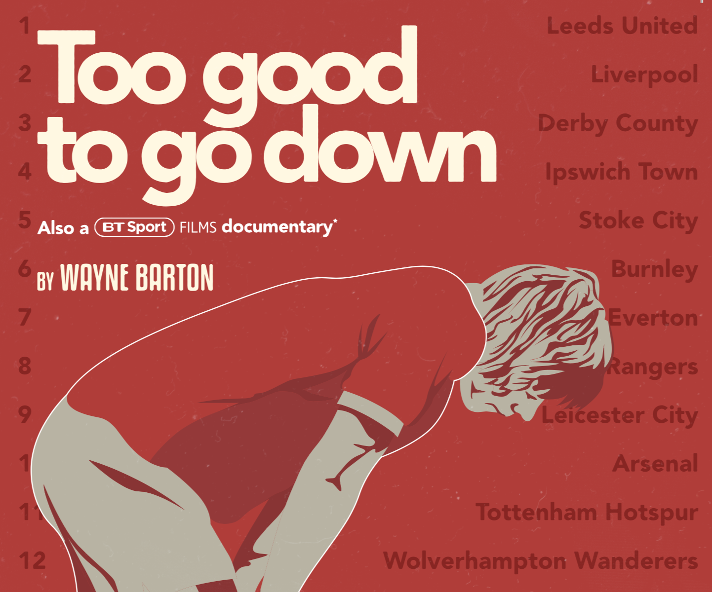 """Too Good To Go Down"" BT Sport Film Airs December 5th"